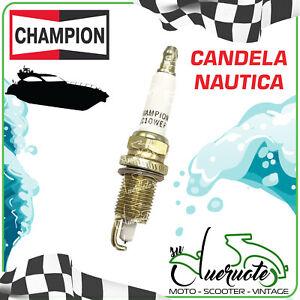 CANDELA ACCENSIONE CHAMPION QC10WEP PER MOTORI MARINI NAUTICI SPARE PLUGS MARINE