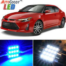 9 x Premium Blue LED Lights Interior Package Kit for Scion tC 2005-2016 + Tool