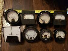 8 Vintage General Electric Panel Meters Steampunk
