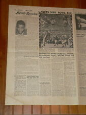 Roundup Sports Pages Nov 1945 Jackie Robinson Baseball PRE ROOKIE YEAR Article