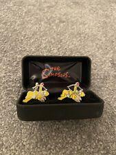 Homer Simpson Cupid Cufflinks