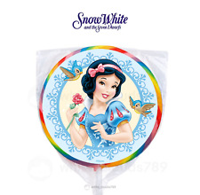 "24 Disney Snow White 1.67"" Sticker Labels for Bag Birthday Party Favor Princess"