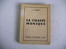 littérature érotique LA CHASTE MONIQUE 1958