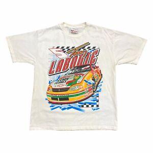 Terry Labonte Extreme Ice Tshirt   Vintage 90s NASCAR Motorsports White VTG