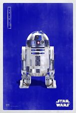 Star Wars R2D2 Hot Classic Movie 12x12 24x24 27x27 Fabric Poster E-592
