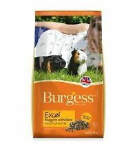 Burgess Excel Adult Guinea Pig Nuggets with Mint 10kg - 13854
