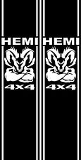 HEMI 4X4 5.7 LITER DODGE RAM HEMI TRUCK RACING Race STRIPE VINYL DECAL STICKER