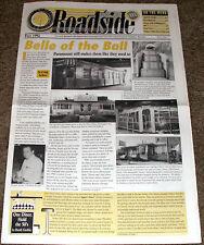 Original VOL 3/1 ROADSIDE DINER Magazine~DINING CARS+PARAMOUNT Diners+Upstate NY