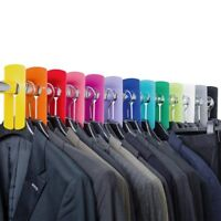 Garment Clothes Rail Dividers Packs of 1/5/10/15/20 Bright Bold Colours