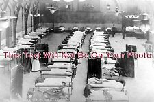 LI 294 - Typhoid Outbreak, Drill Hall, Lincoln, Lincolnshire 1905 - 6x4 Photo