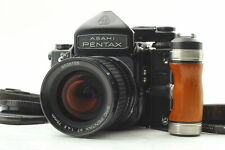 【Near MINT】 Pentax 6x7 67 TTL Mirror Up SMC 75mm f/4.5 Late Lens Grip from JAPAN