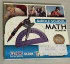middle school math geometry CD-ROOM
