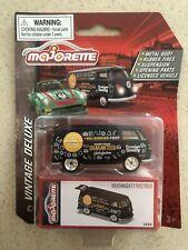 Majorette Die Cast Deluxe Car- Volkswagen T1 Food Truck Black