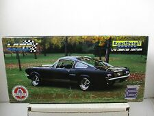 1/18 SCALE LANE EXACT DETAIL BLACK W/ GOLD STRIPE SHELBY GT 350H FORD MUSTANG