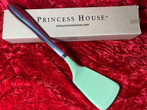 Princess House #5380 Barrington Stainless Steel and Green Silicone Spatula Rare!