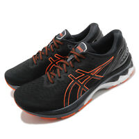 Asics Gel-Kayano 27 4E Extra Wide Black Marigold Orange Men Running 1011A833-003
