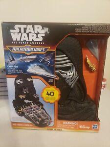 Star Wars The Force Awakens Micro Machines Kylo Ren Playcase