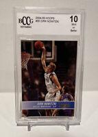 2004-05 NBA Hoops Dirk Nowitzki #55 Graded BCCG 10 Mint Mavericks NBA HOF