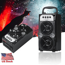 Outdoor Bluetooth Wireless Speaker Super Bass with USB/TF/AUX/FM Radio US Stock