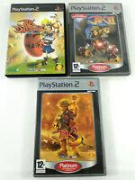 Lot de 3 jeux Playstation 2 PS2 VF  Jak  Envoi rapide et suivi