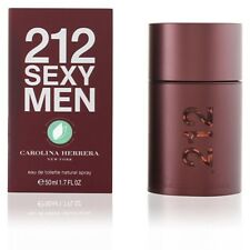 212 Sexy Men de Carolina Herrera Perfume 50 ml Hombre