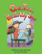 One, Two, Buckle My Shoe Lap Book Numbers Early Childhood Themes paperback NEW
