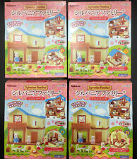 RARE * Sylvanian Kabaya House of Breeze Hill Miniature 4pcs complete Capsule Gacha