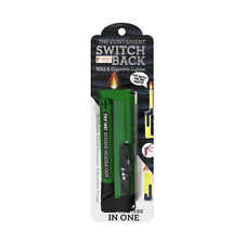 2-in-1 Gibson Switchback Utility Lighter Refillable Adjustable Flame Free 2-3 Sh