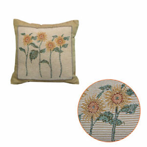 Bella Sunflower Tapestry Filled Cushion 32 x 32 cm by Rapee