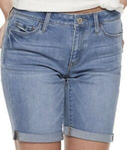 Women's Junior SO Low-Rise Bermuda Shorts Size 0 NWT