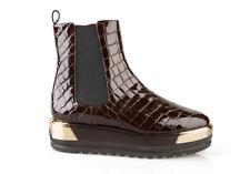 Authentic Baldinini Leather Shoes Italian Sizes 6,7,10,11Brown
