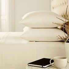 Helena Springfield 100% Brushed Cotton Flannelette Pillowcases Ivory