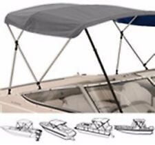 """3 Bow Low Profile Bimini Tops for Boats Fits 72"""" L X 36"""" H X  54"""" to 60"""" Wide"""