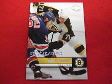 2006 07 Upper Deck Marc Savard  UD Exclusives hockey parallel card  #ed 55 / 100