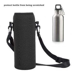 Sport water bottle cover neoprene insulated sleeve bag case pouch neRS/_shWP5