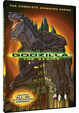 Godzilla Complete Animated Series DVD Set Kid Cartoon Box Collection Episode Lot