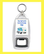 Personalised (YOUR NAME) Motorhome Motor Home Van BOTTLE OPENER KEYRING Keys