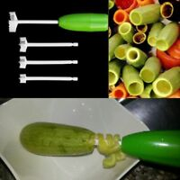 Accessories 4 Pcs/Set For Stuffed Tools Corer Digging Vegetable Device Cutter
