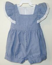 New In Bag Kelly's Kids Chambray Hopscotch Catalina Bubble Size 18 Month