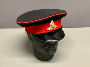 British Army-Issue Royal Artillery Service Cap & Badge. Size 57cm. 00.