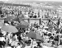 "1927 Long Beach, New York Vintage Photograph 8.5"" x 11"" Reprint"