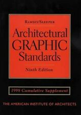 Architectural Graphic Standards, 9th Edition, 1998 Cumulative Supplement