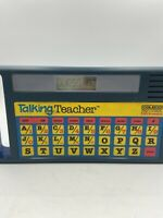 Vintage Coleco Talking Teacher Educational Toy Speak & Spell 8100 Learn 1985
