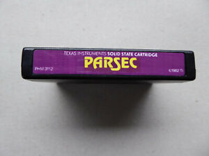 TI99/4a Texas Instruments Games - PARSEC - COMMAND MODULE