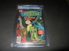 Detective Comics 478 CGC 9.6 NM+ Clayface App.  (DC 1978)