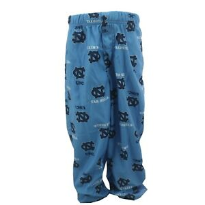 North Carolina Tar Heels NCAA Youth Kids Size Print All Over Pajama Pants New