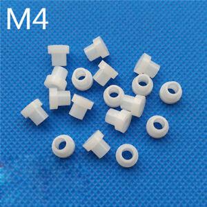 M4 Transistor Gasket Nylon T Type Screw Steps Washer Plastic Insulation Bush