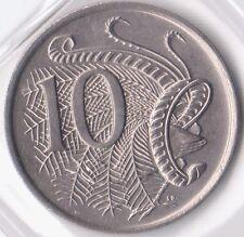 1977 Ten Cent Coin - Uncirculated - Taken from Mint Set