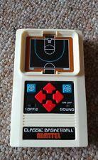 Vintage / Retro - Classic Basketball Handheld Video Game by Mattel!