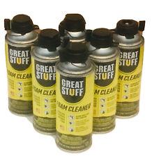 6 Pack Great Stuff Pro 12 Oz Foam Cleaner 259205